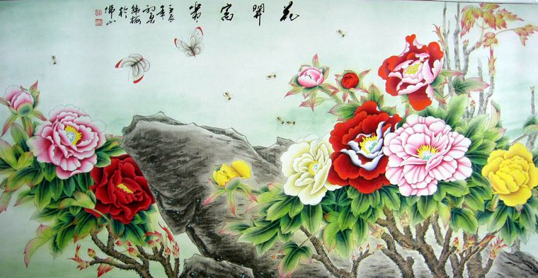 2003年元月在山东省青岛市文化馆成功举办首次个人画展,作品大部被藏