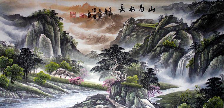 大自然风景画