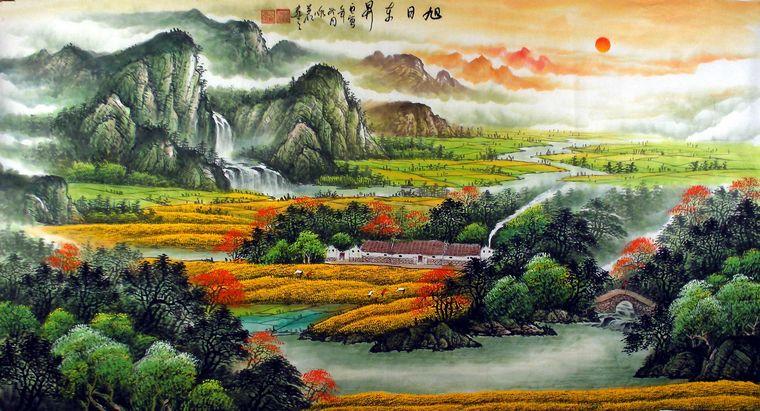 欧式风格的客厅,是指装修风格是欧式的,国画和书法作品是中国传统的文化,两者结合起来,挂在欧式风格的客厅,是否能相得益彰? 答案是肯定的,主要主要好一些小细节,是完全能挂出好效果的。客厅挂山水画、牡丹画,或是书法作品都比较合适,选择好大小尺寸合适的作品后,第一字画网装裱完成后,只要在当地配框就能挂上了。其中在配框的时候,可以结合欧式的客厅风格,选欧式的框,或是适合家居风格的框挂上,效果会相当不错。除了上面提到的字画外,荷花图、九鱼图、或是八骏图也可以挂客厅,提供给大家参考一下。(本文由第一字画网首发:htt