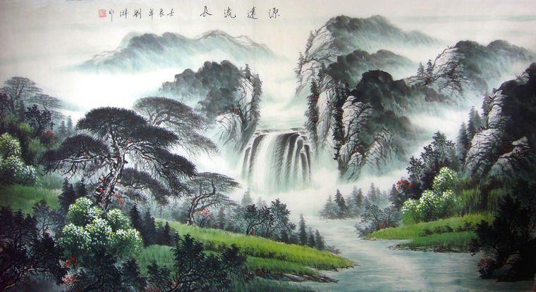 水墨画 - xiao-yu2888 - xiao-yu2888的博客