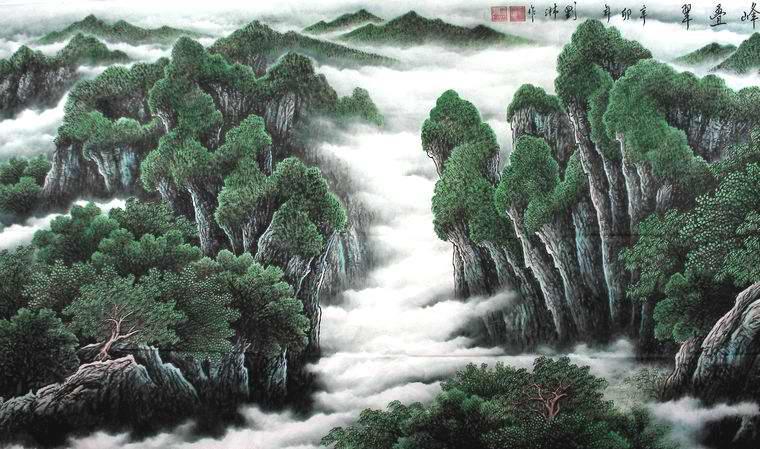 中国山水画 - 第一字画网 powered by hishop图片