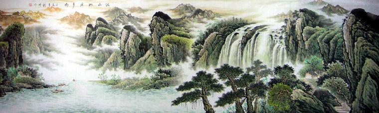 丈二国画山水画 - 第一字画网