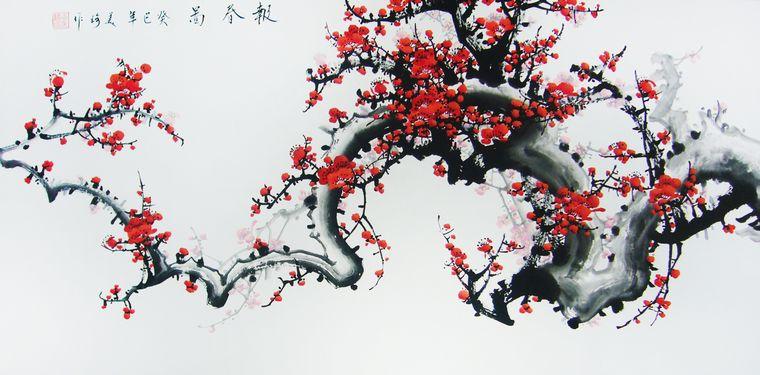 《原创诗词》七绝:初春赏梅有感 - 深谷幽兰(蓉) - 深谷幽兰 (蓉)飘香四季