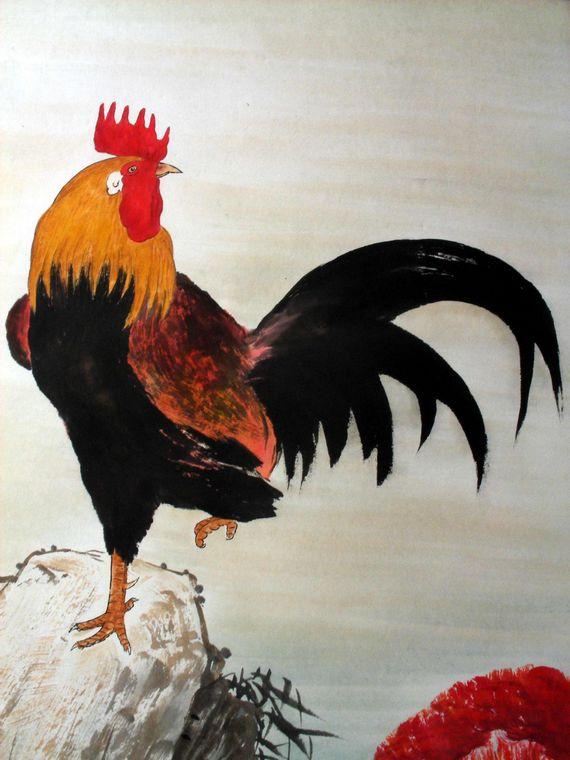 [转载]国画大师笔下的工笔画--动物作品欣赏