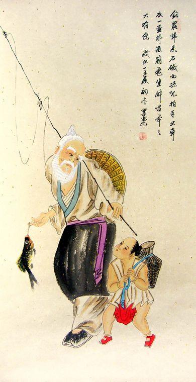 古代人物画