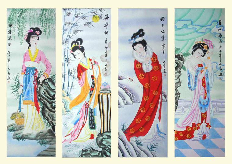 中国四大美人|中国古代四大美人|古代四大美人
