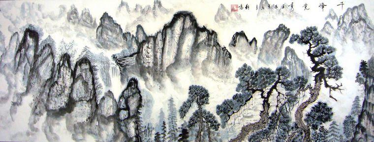 中国传统山水画