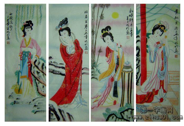 中国四大美女 中国古代四大美女 古代四大美女