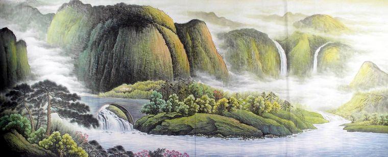中国画写意山水